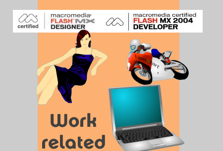 Click to look at my work and my work details. (CV, examples and projects)
